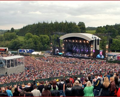 Slane Castle: Rock Stars and Romance