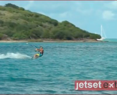 Kite Surfing with Sir Richard Branson