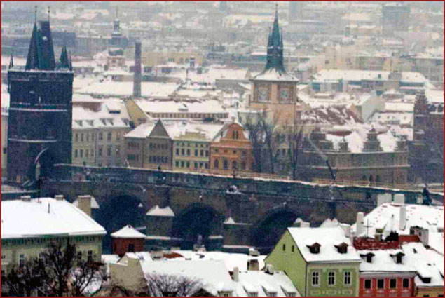 Prague is a fairytale city, after all