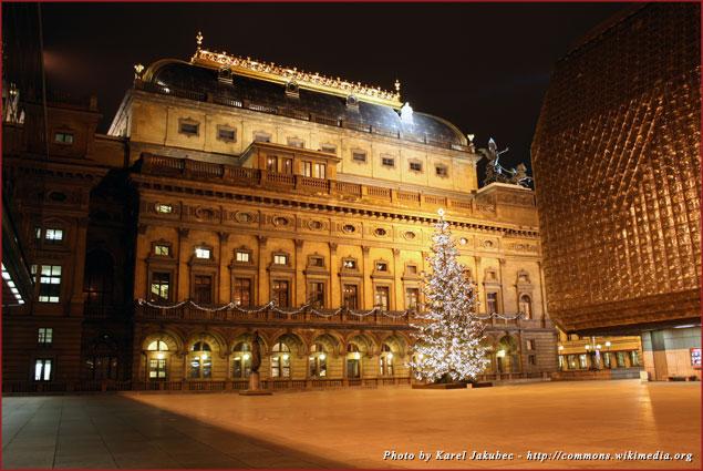 National Theatre in Prague, Czech Republic