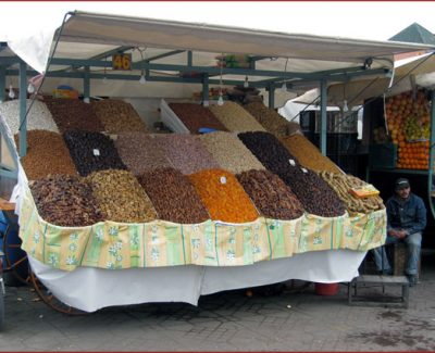 Goods sold at the local market