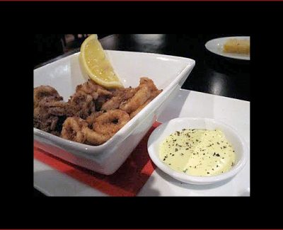 Calamari with lemon aioli