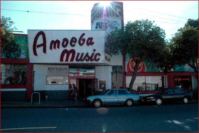Amoeba Music in San Francisco