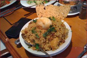 Chicken Biriyani - Probably the best I've tasted...ever!