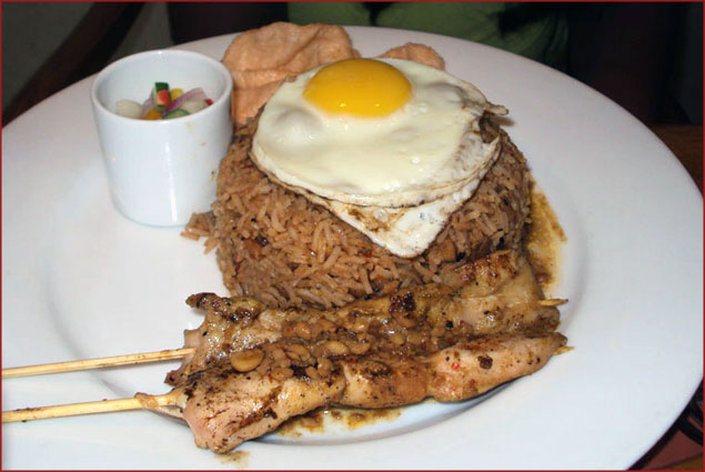 Nasi Goreng - An Indonesian dish, I believe. Again, this was as mouthwatering as everything else!
