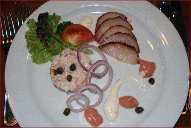 The Salmon starter