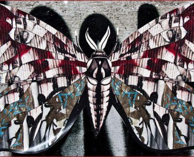 Street Art - Butterfly