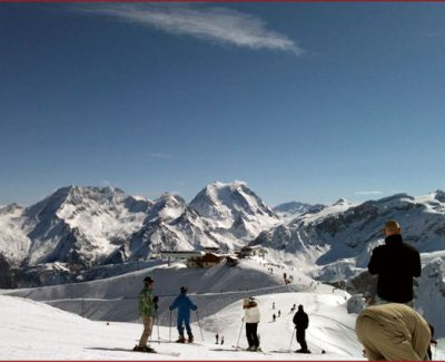 Ski Resort in Meribel, France
