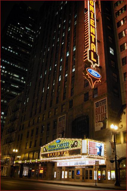 Opening night of the Tony award-winning Billy Elliot