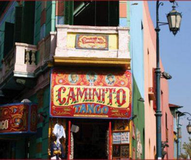 A tango club in La Boca, Buenos Aires, Argentina