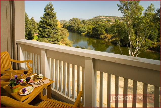 River Terrace Inn - Balcony view
