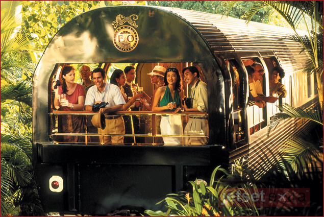 Luxury Train Rides Around the World: The Observation Car
