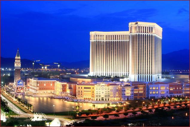 Best Gambling Around the World: The Venetian Macao