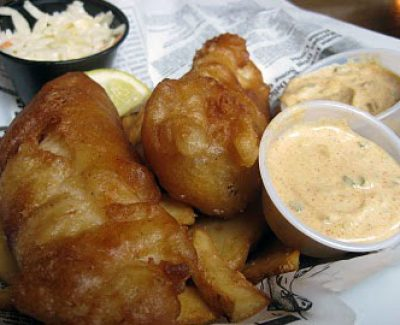 Durty Nelly's has the yummiest fish n' chips in Hali!