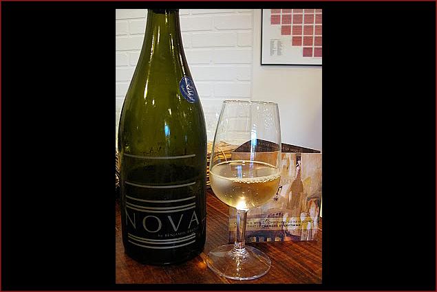 Benjamin Bridge's highly anticipated Nova 7, their signature sparkling wine