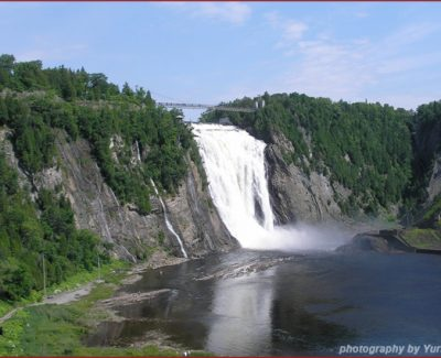 Waterfalls near Quebec