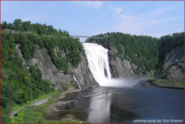 Waterfalls near Quebec