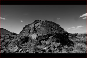 Domed Rock - Simple beauty in the desert of California