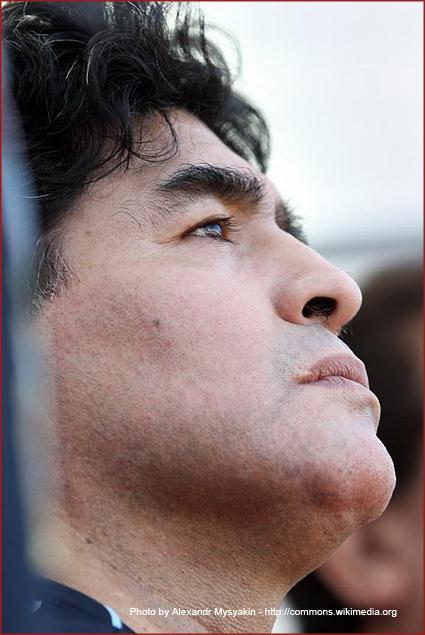 Diego Maradona—Will he bring joy to Argentina like in '86?