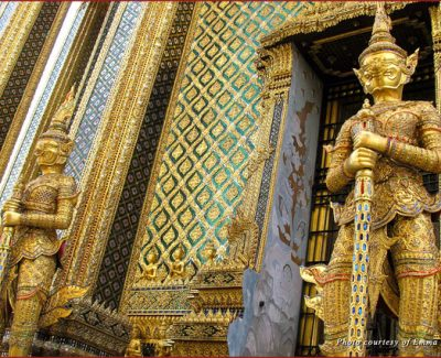 Palace Guardians in Bangkok, Thailand