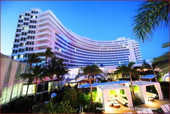 Fountainebleau Hotel in Miami