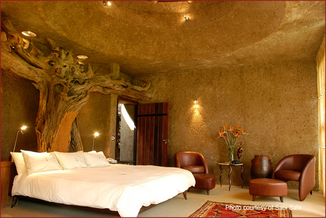 The Amber Suite at Earth Lodge