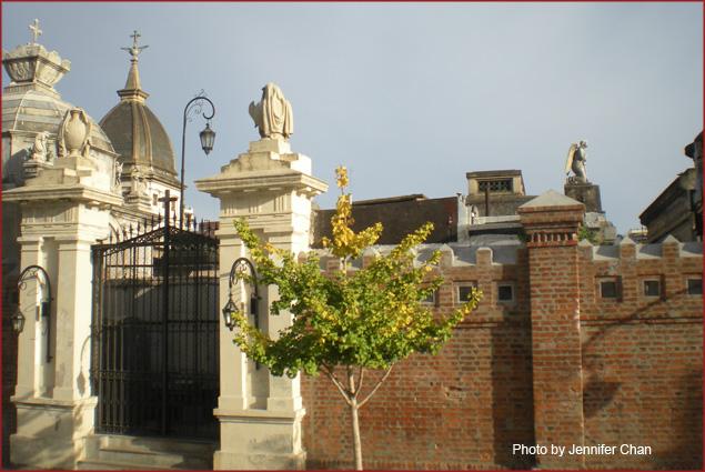 The cemetery of Recoleta