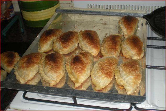Empanadas, a classic appetizer