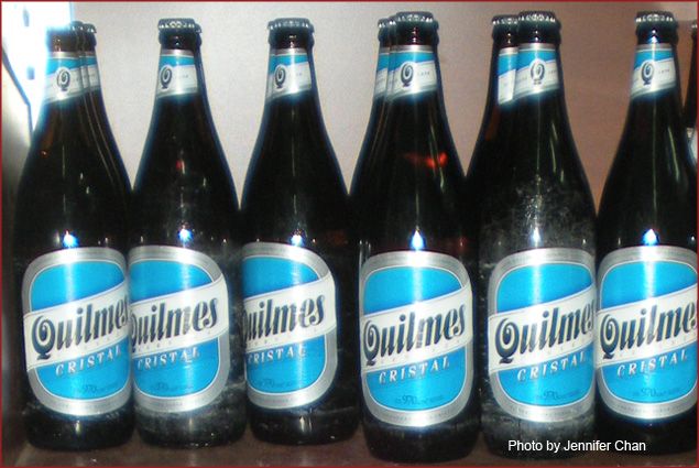 Quilmes is the nation's no. 1 beer