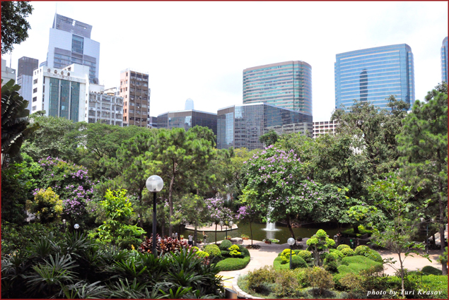 Kowloon view from Walled City Park
