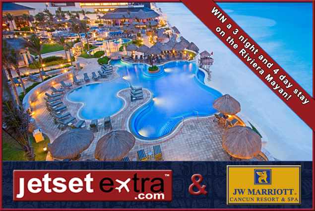 Win a 3 night and 4 day stay in Cancun Mexico