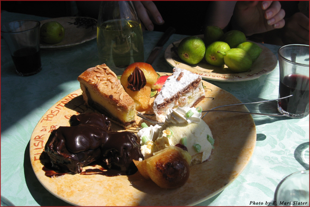 Dessert at La Tagliata