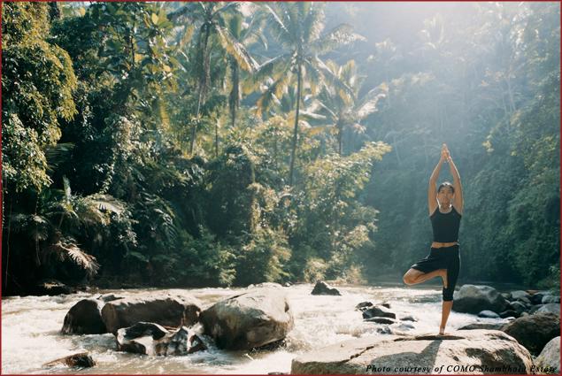 Yoga at COMO Shambhala Estate