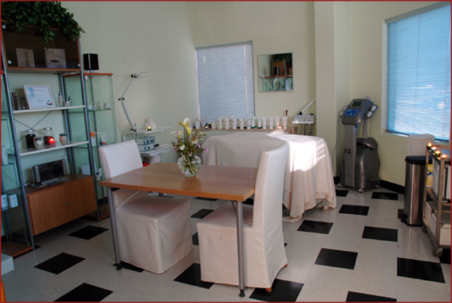 Treatment Room at Skin Fitness
