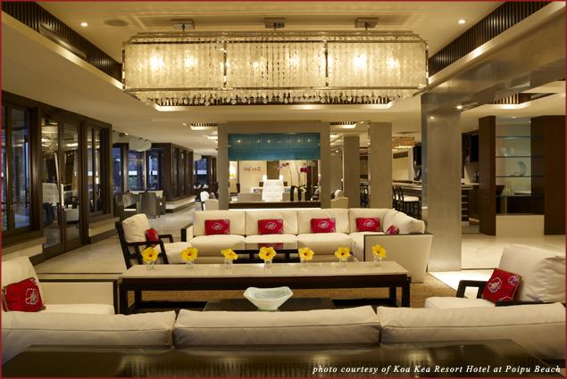 The Lobby at Koa Kea Resort