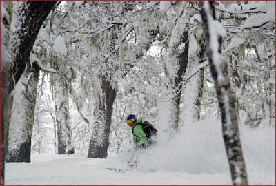 A unique ski experience