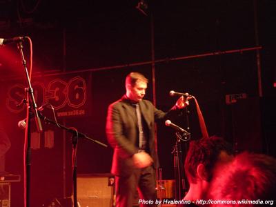 Glen Pine from The Slackers live at SO36, Kreuzberg, Berlin, Germany