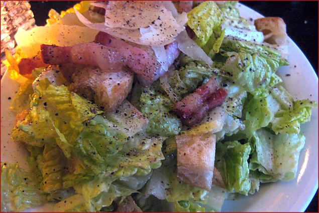 Vinaigrette Caesar Salad w/ Smoked Bacon, Croutons & Preserved Lemon