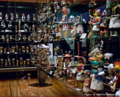 Hopi Katsina Dolls on display at The Heard Museum