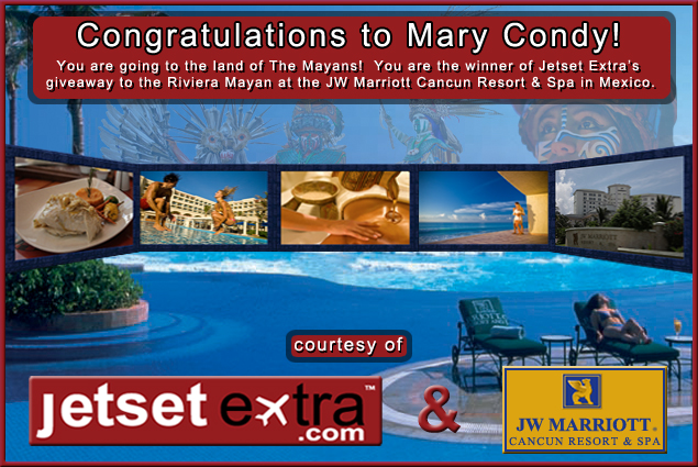 Congratulations to Mary Condy