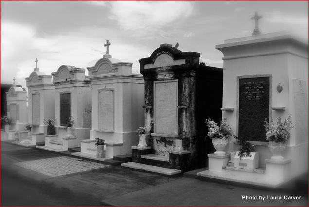 Above-ground tombs