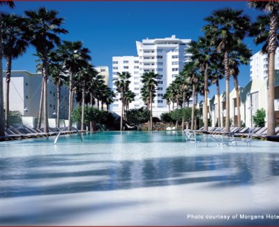 The Pool at Delano Hotel, Miami