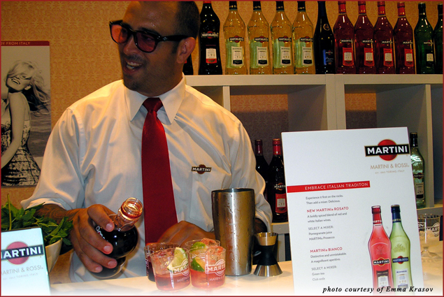 Martini & Rossi Aperitif Bar at Hotel Monteleone at Tales of the Cocktail