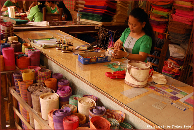 Crafting at Bohol Bee Farm
