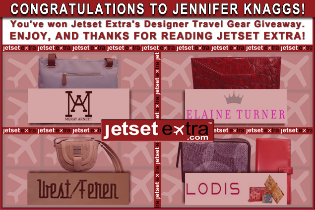 We Have a Winner: Congratulations to Jennifer!