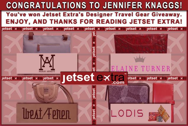 We Have a Winner: Congratulations to Jennifer!