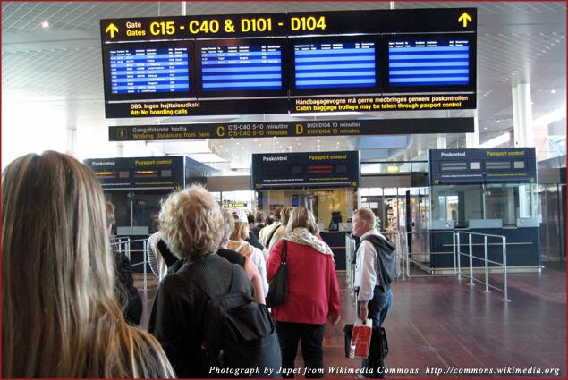 Arriving in Copenhagen