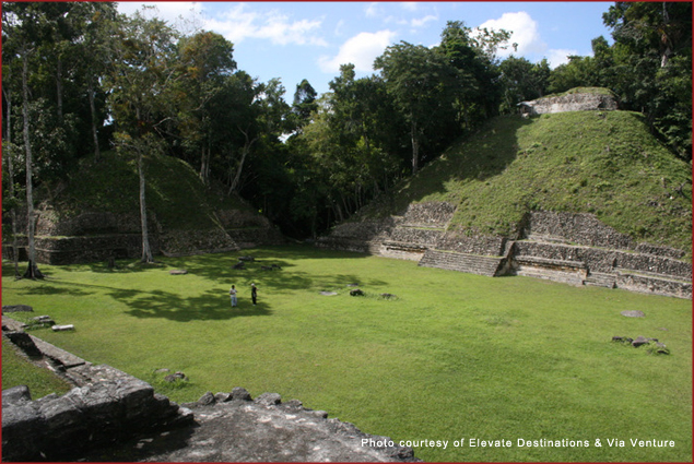 Visit the Caracol archaeology site while staying at the Kanantik Reef & Jungle Belize Resort