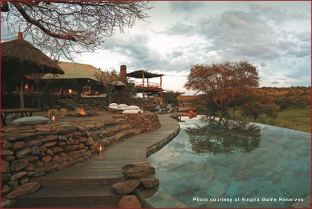 Faru Faru Lodge at Singita Game Reserves in Tanzania