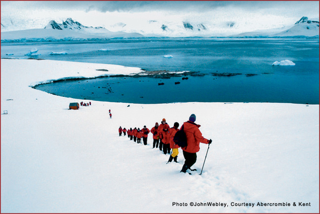 Adventures in Antarctica with Abercrombie & Kent Philanthropic Journeys